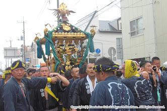 Photo: 【平成26年(2014) 本宮】 雨にも負けず、氏子回り終盤。