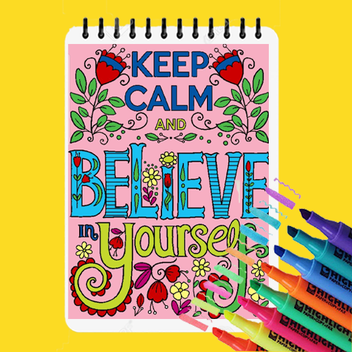 Quote Coloring Book