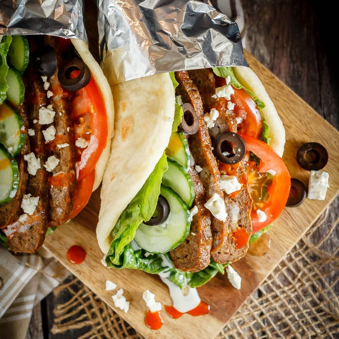 Homemade Donairs (Gyros) Recipe