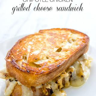 Chipotle Chicken Grilled Cheese Sandwich.