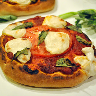 Vegan Margherita Pizzas