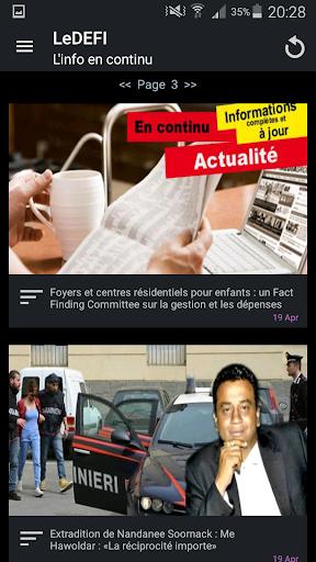 Le Defi News