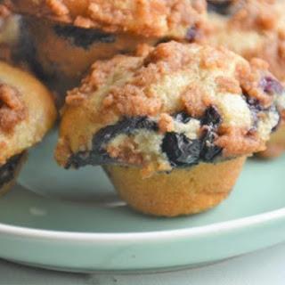 Mini Blueberry Muffins.