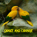 Parrots SHAKE And Change LWP icon