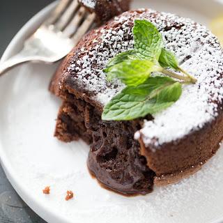 Limencello Chocolate Lava Cake