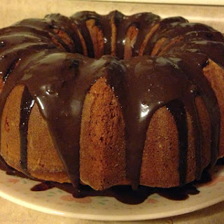 Orange Chocolate Chunk Bundt Cake Recipe