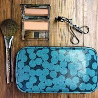 Stripe Mainline Makeup Bag | Makeup Bags