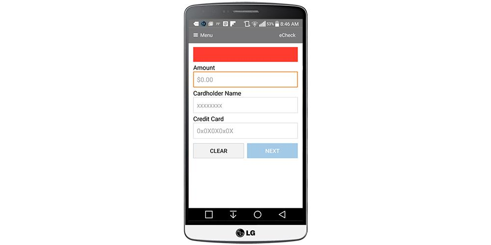 Forte Mobile Payments- screenshot