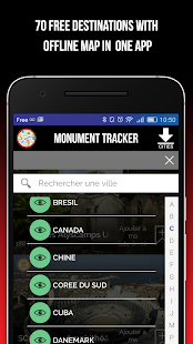 Monument Tracker World Guide- screenshot thumbnail