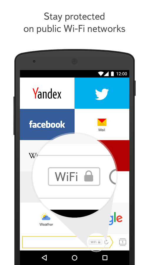 Yandex.Browser for Android- screenshot