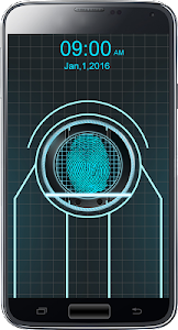 Trone Fingerprint lock prank screenshot 5