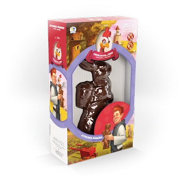 Chocolat Lapin Figurines régulières