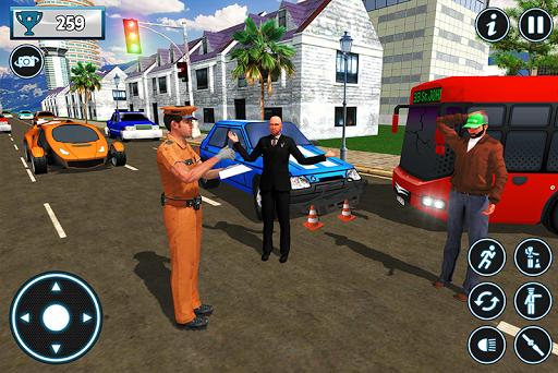 Police City Traffic Warden Duty 2019 androidiapk screenshots 1