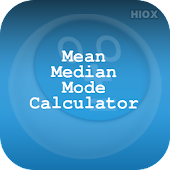 Mean Median Mode Calculator