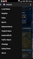 Screenshot of NBC29 News Now