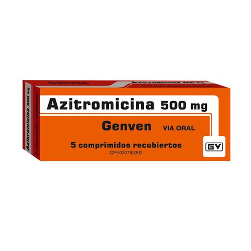 azitromicina 500mg 5comprimidos genven Genven