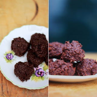 Chocolate Chai Macaroons With Chia Seeds
