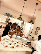 Zaba Gumede is a self-taught cook and does private events for limited number of individuals.