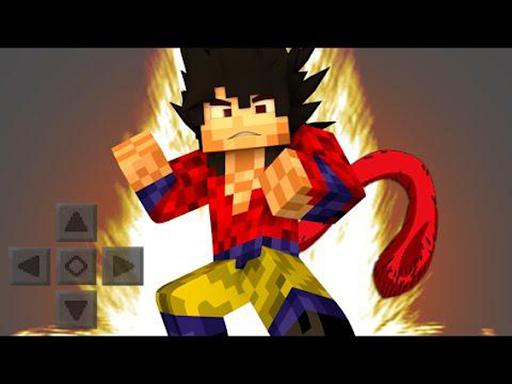 Saiyan Mod for Minecraft 1.0 screenshots 3