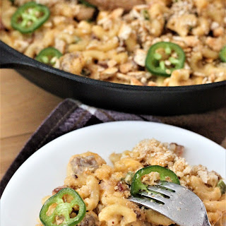 Smoky Jalapeno Popper Mac and Cheese Recipe
