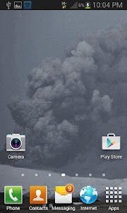 Lighting Cloud Live Wallpaper screenshot 1