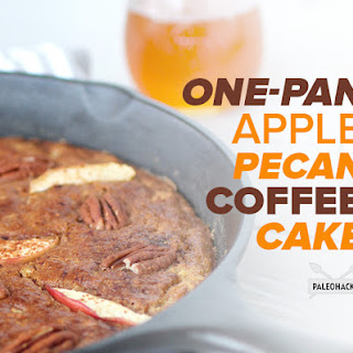 One-Pan Apple Pecan Coffee Cake
