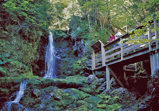 corner-brook-waterfalls.jpg - You'll encounter waterfalls when hiking the lush trails of Corner Brook, Newfoundland.