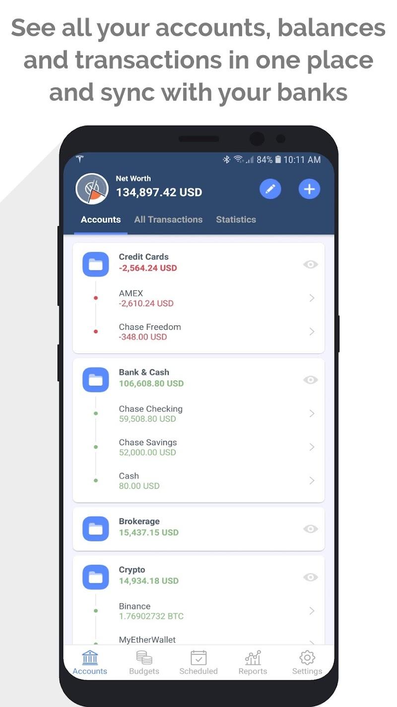 MoneyWiz 3 - Fiat & Crypto Screenshot 0