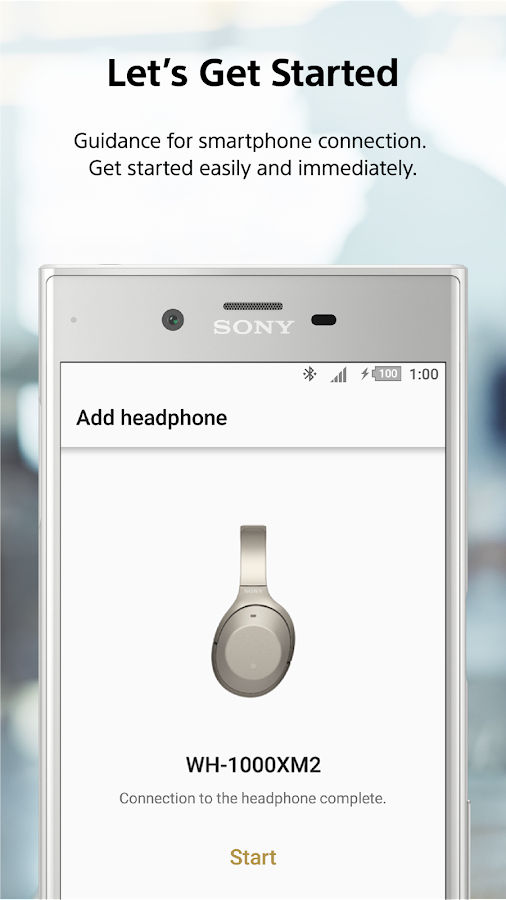 Sony | Headphones Connect- screenshot