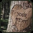 انحت اكتب اسمك على شجره الحب