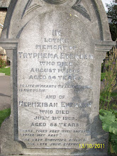 Photo: 2 - Tryphena Evenden, died August 1st 1889, aged 64 yearsHephzibah Evenden, died July 21st 1905, aged 85 years