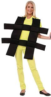 Image result for hashtag costume