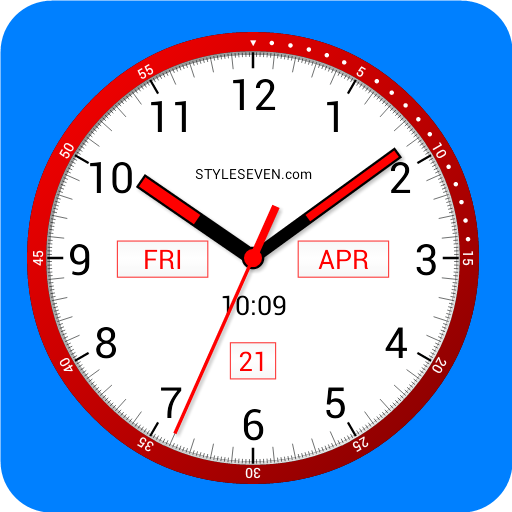 Color Analog Clock-7 Android APK Download Free By Style-7