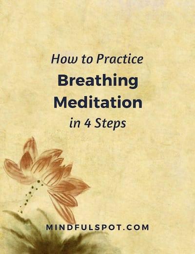 Breathing Meditation Worksheet