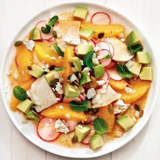 Mexican Jicama And Avocado Salad.