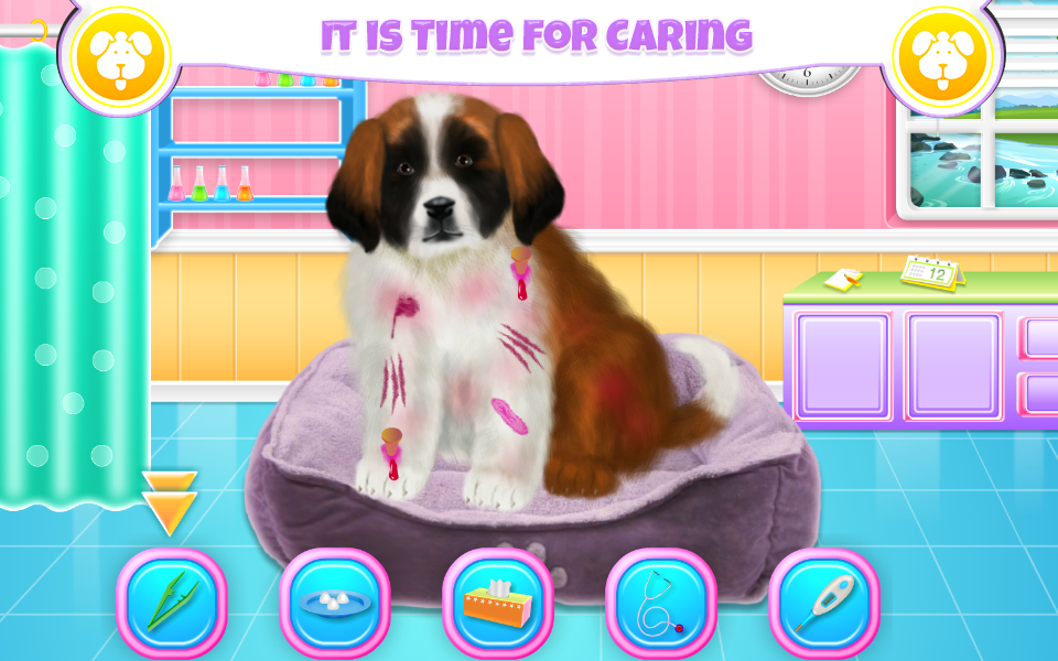 St Bernard Puppy Day Care- screenshot