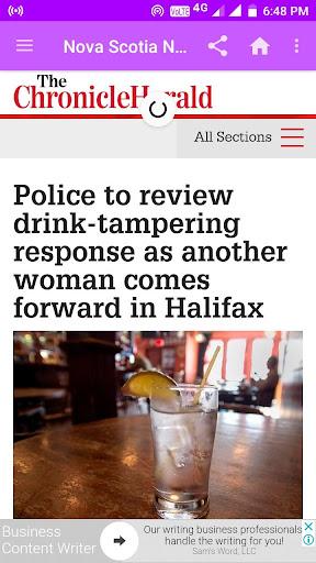 Nova Scotia Daily Newspapers 1.0 screenshots 1