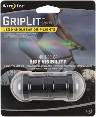 Nite Ize GripLit LED Handlebar Light: Disc-O alternate image 0