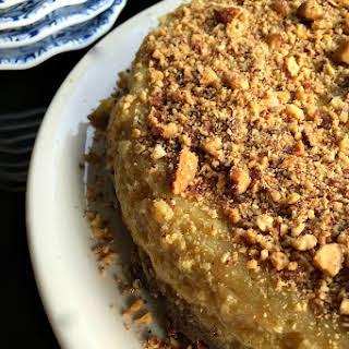 Almond Lime Flan Cake.