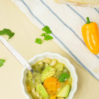 Vegetables and White Beans Soup Recipe