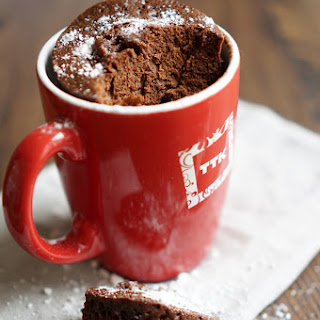 Chocolate Cake In A Cup In 3 Minutes.
