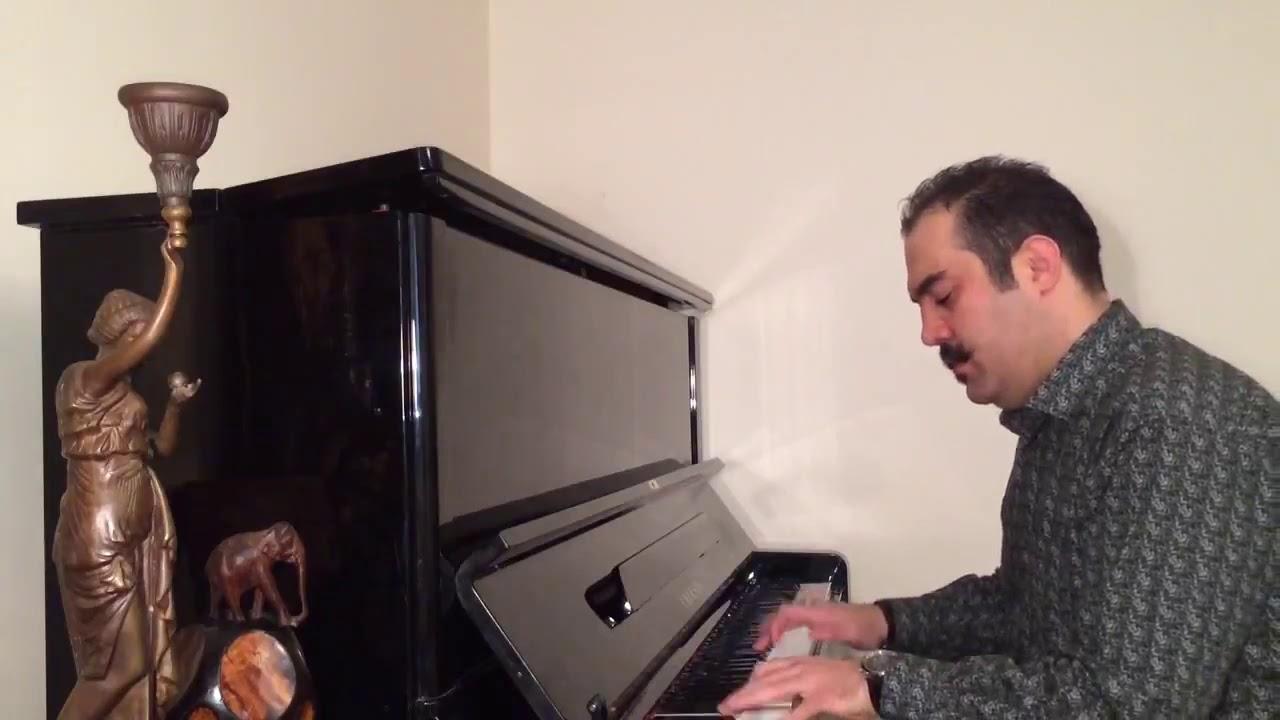 وصال یار آهنگساز و پیانو احسان نیک