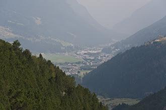 Photo: Jeszcze trochę muszę wytracić wysokości by dotrzeć do Bormio.