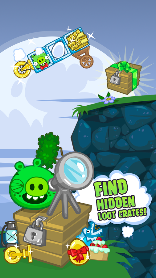 Bad Piggies – zrzut ekranu