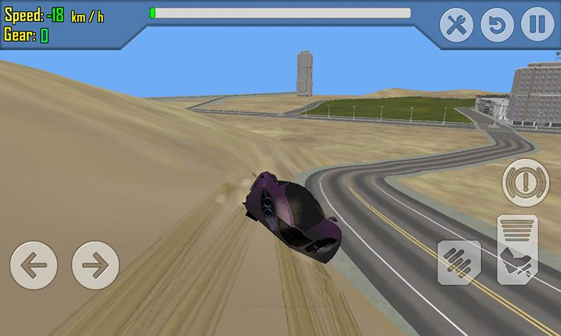 android Car Racing Simulator Driving Screenshot 5
