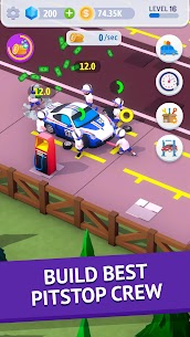 Idle Pit Stop: Tycoon Racing Manager MOD (Diamonds/No Ads) 1