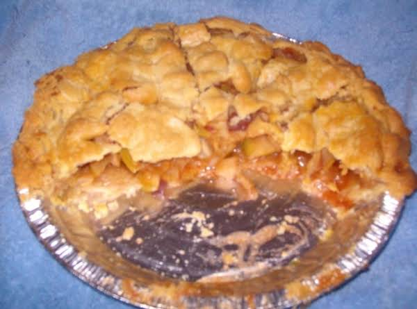 Super Simple Apple Cobbler Pie (diet)