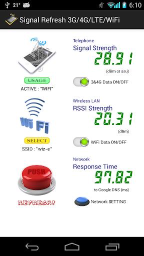 信号复苏 3G 4G LTE WiFi