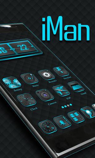 iMan GO Launcher Theme