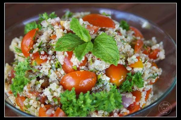 Lemony Quinoa Tabbouleh Recipe
